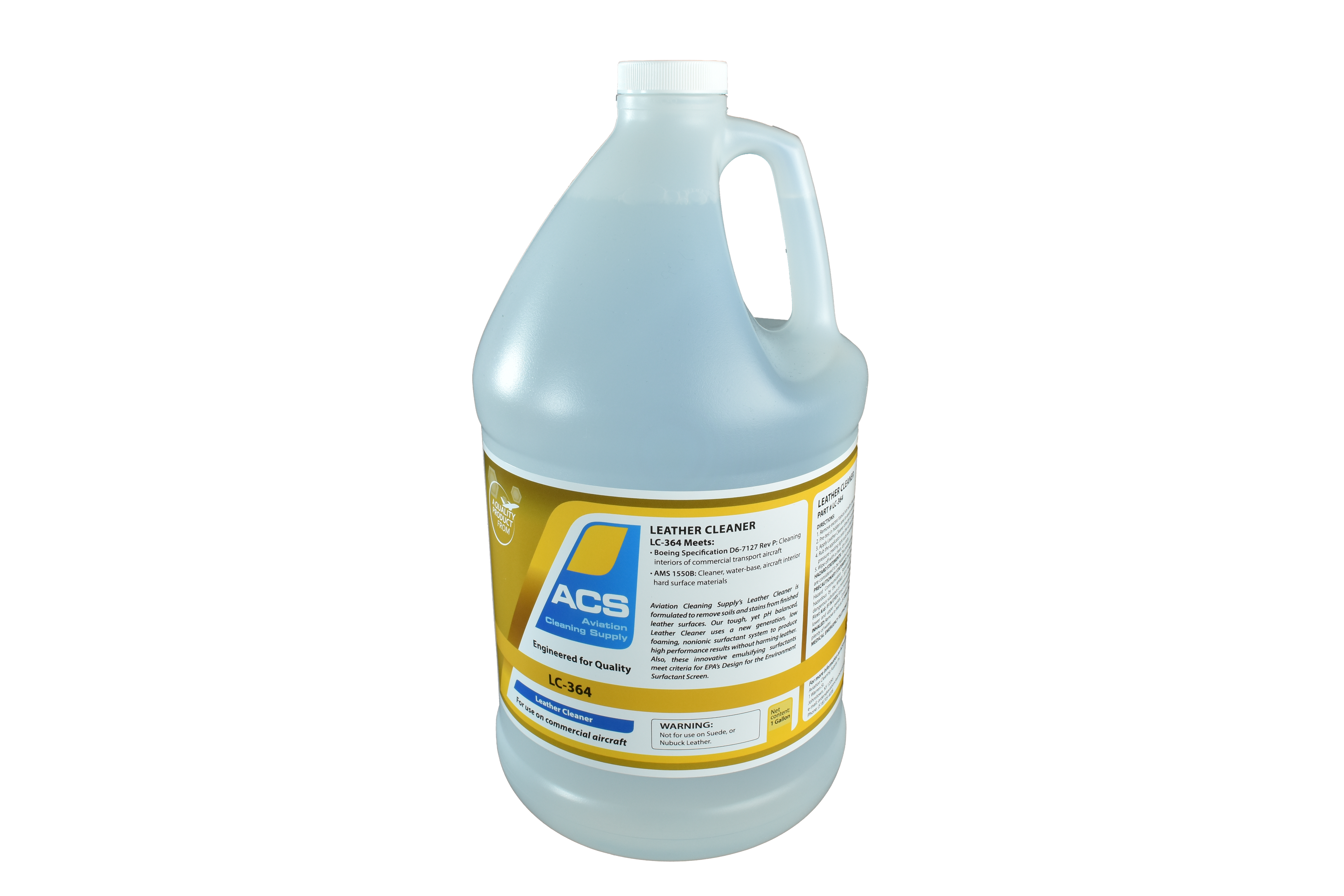 LC-364 Leather Cleaner 1 Gallon-web