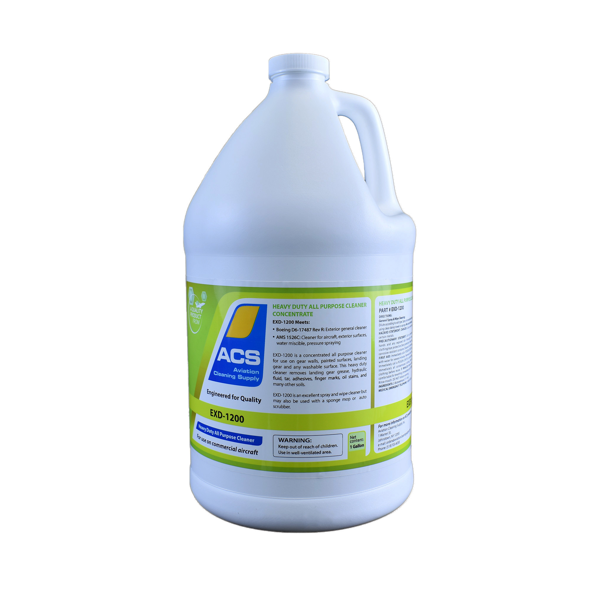 Exd 1200 Heavy Duty All Purpose Cleaner Concentrate Aviation Cleaning Supply