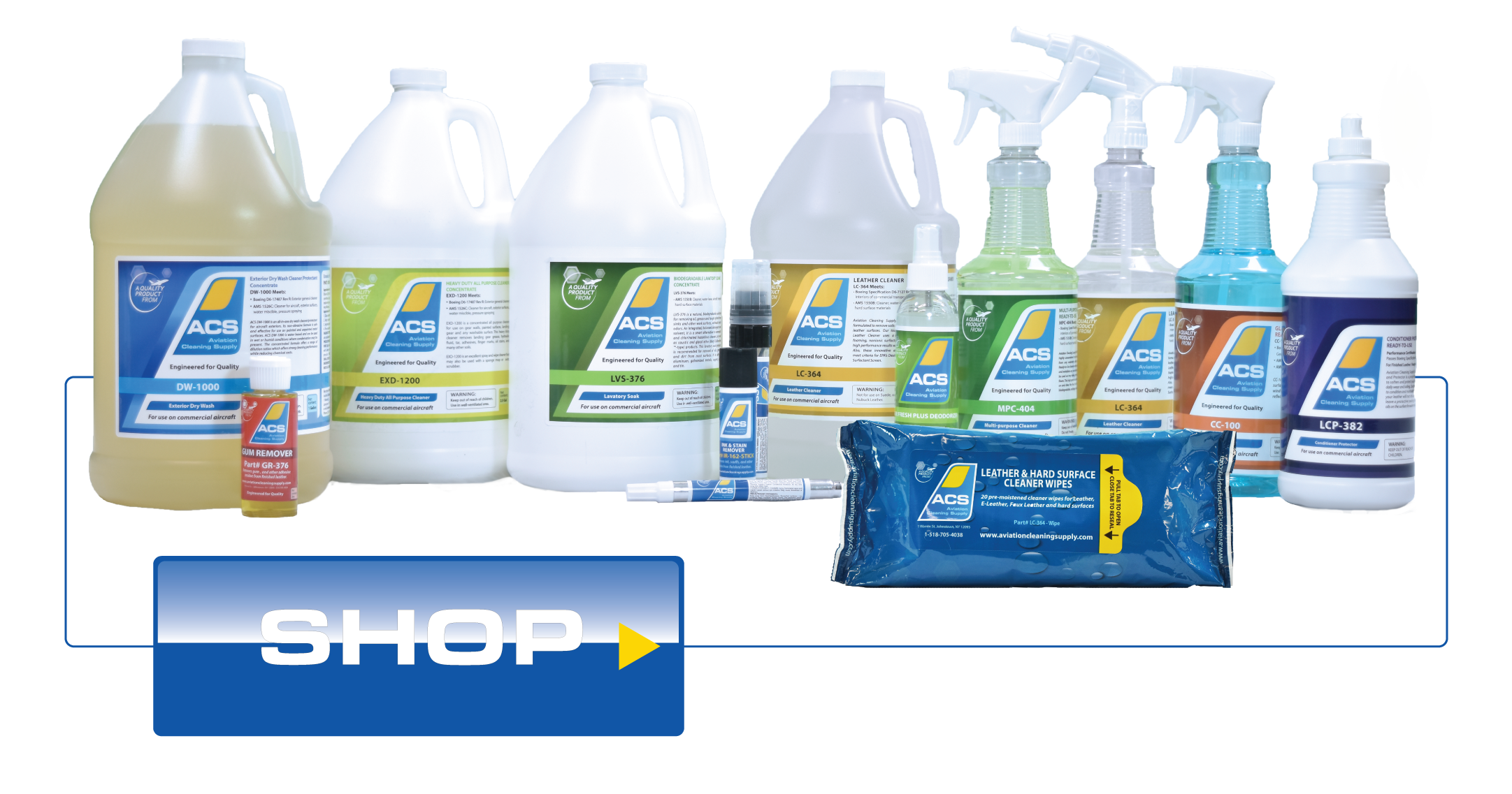Shop Aviation Cleaning Supply Products